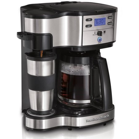 Refurbished Hamilton Beach 2 Way Brewer Coffeemaker | Model# (Combo Brewer)