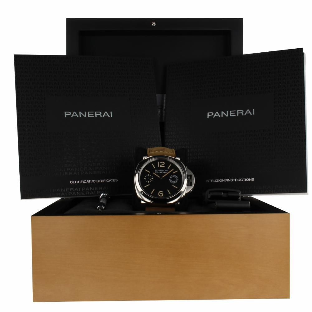 Pre-Owned Panerai Luminor Marina PAM00590 Steel  Watch (Certified Authentic & Warranty)