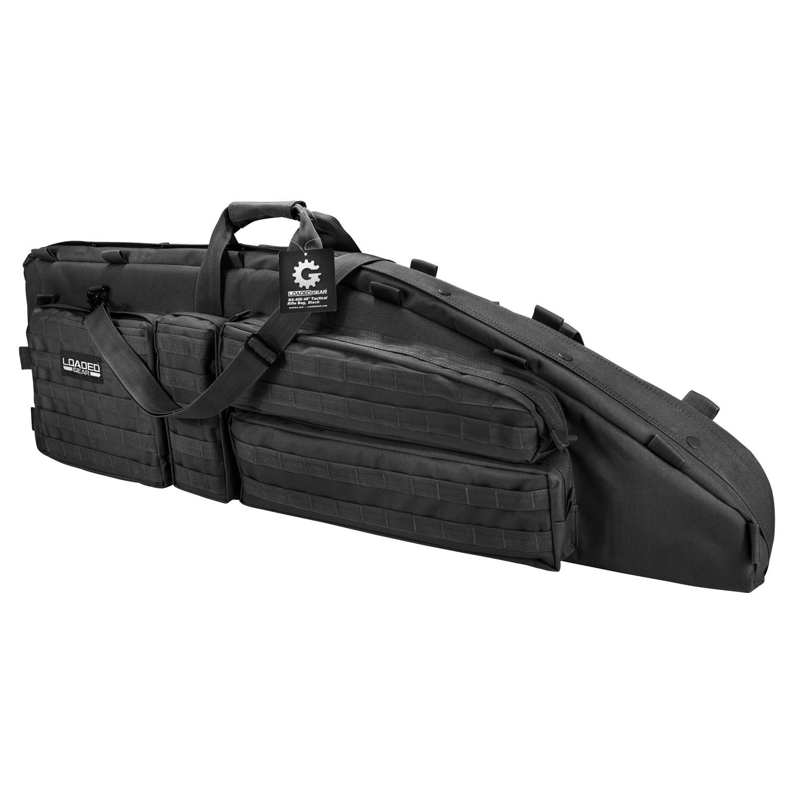 "Barska Optics RX-600 46"" Tactical Dual Rifle Bag"