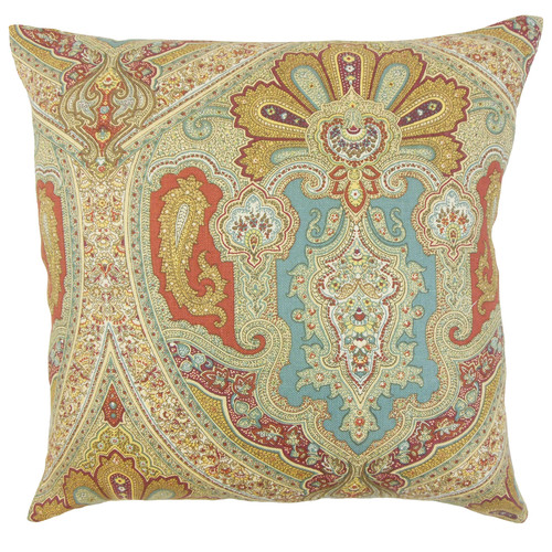 The Pillow Collection Kenia Linen Throw Pillow