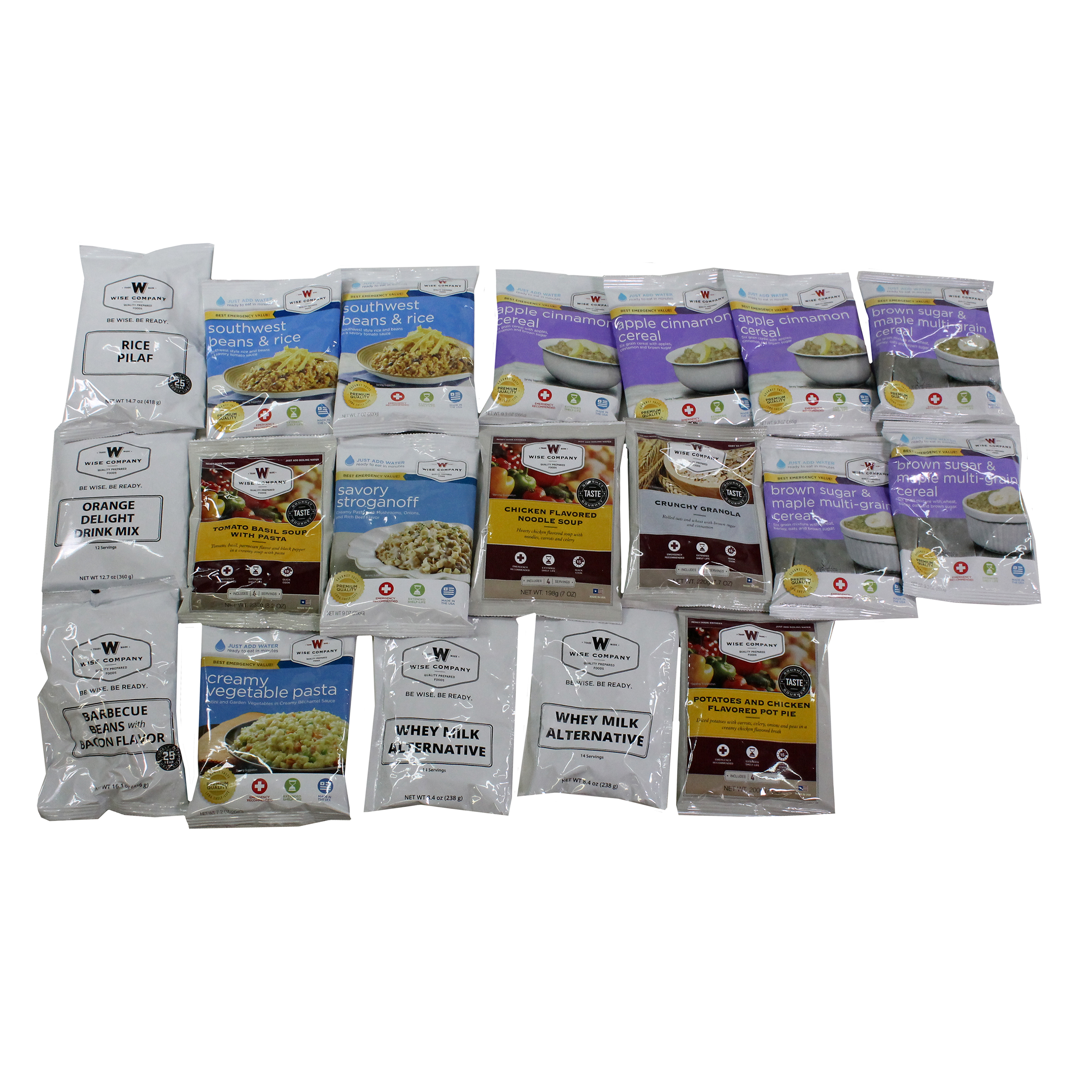Wise Foods 1 Month Supply Pack (112 Servings) by Wise Foods