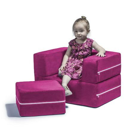 Jaxx Zipline Modular Kids Chair Ottoman