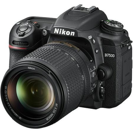 Nikon D7500 DSLR Camera with 18-140mm Lens Intl Model