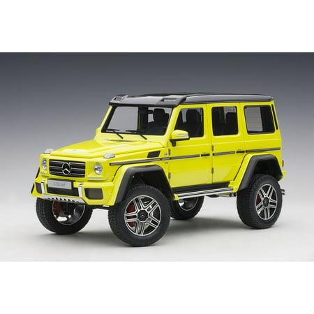 Mercedes Benz G500 4X4 2 Electric Beam/ Yellow 1/18 Model Car by (Best Mercedes Benz Model)