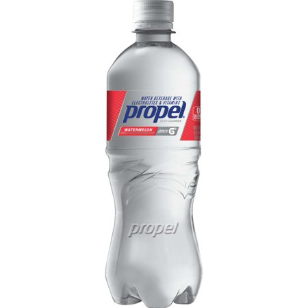 (2 Pack) Propel Water, Watermelon, 16.9 Fl Oz, 12 Count