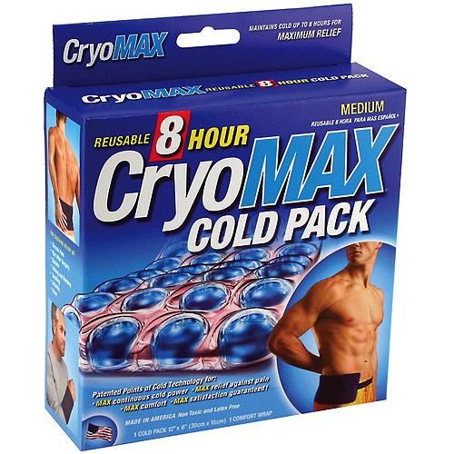 Cryomax Reusable 8 Hour Medium Cold Pack, 1ct