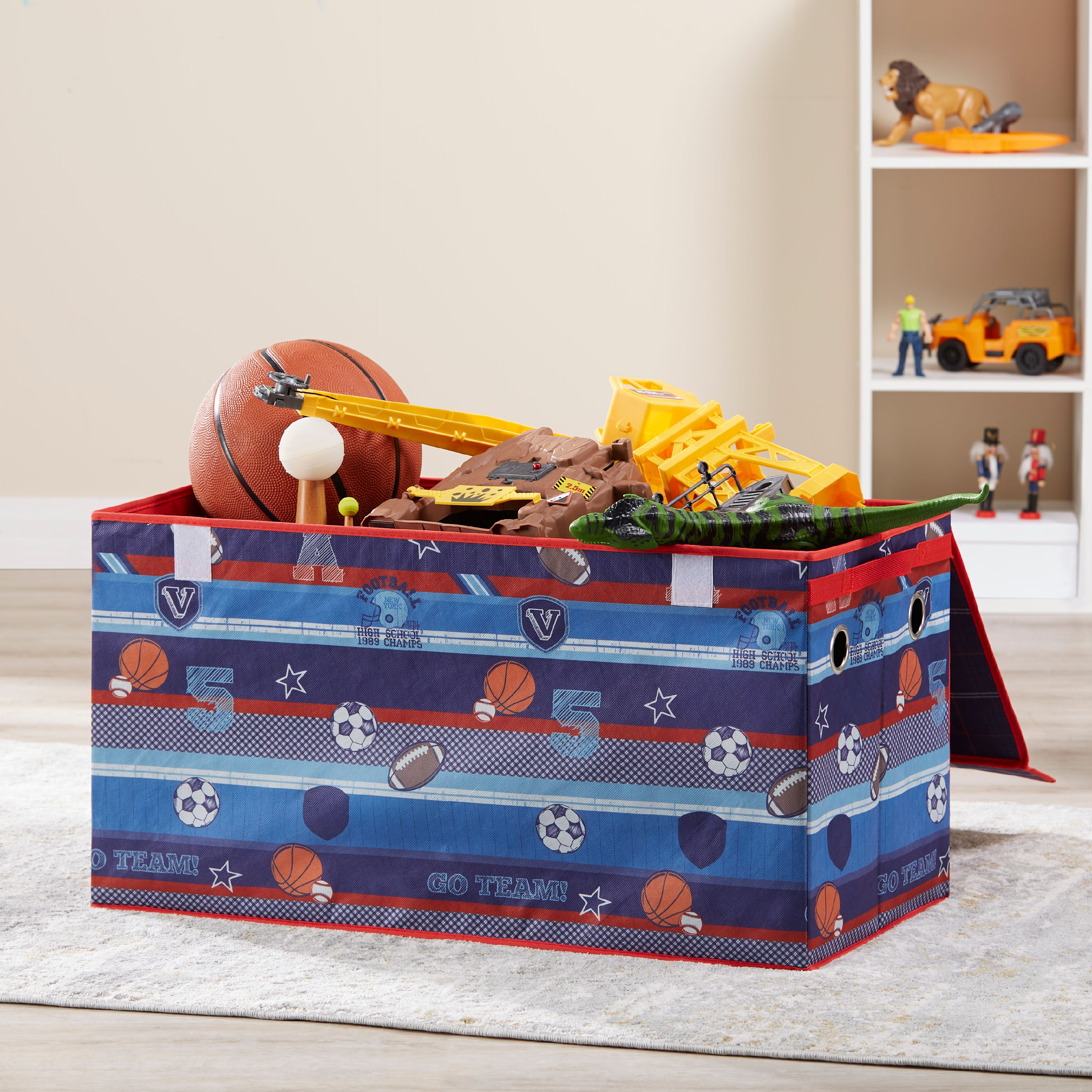 MAINSTAYS KIDS STORAGE COLLAPSIBLE TOY TRUNK