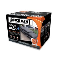 "Quick Dam Expanding Sandless Sandbag, 12"" X 24"", 20 bags per case"