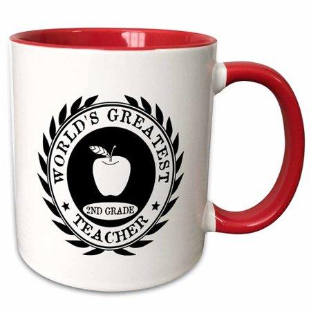 Teacher Stuff (Symple Stuff Erithon Worlds Greatest 2Nd Grade Teacher Award Second Grade 2 Thank You Gift Coffee)