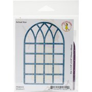 Cheery Lynn Designs Die-Window C, 4.125 Inch X 2.625 Inch
