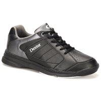Dexter Mens Ricky IV Bowling Shoes- Black/Alloy 7 M US