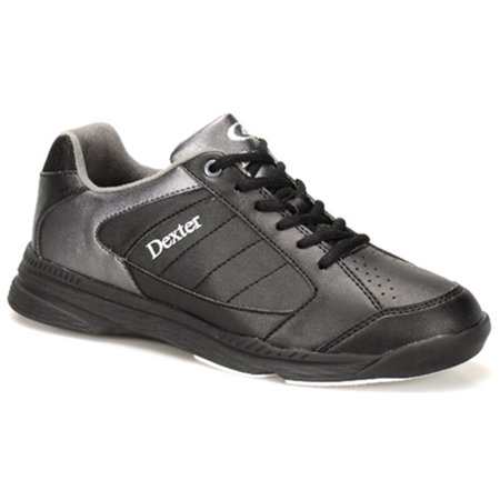 Dexter Mens Ricky IV Bowling Shoes- Black/Alloy 7 M