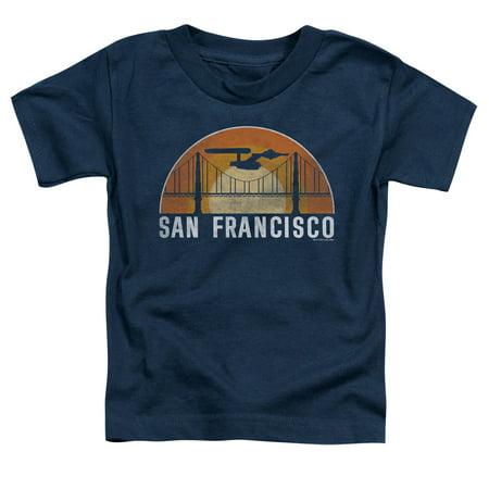 Halloween Party San Francisco Boat (Star Trek - San Francisco Trek - Toddler Short Sleeve Shirt -)