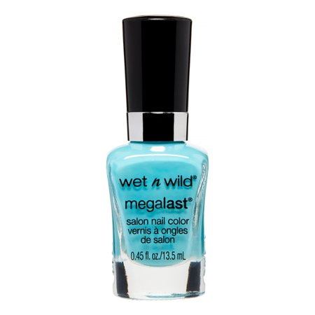 Wet n Wild Megalast Salon Nail Color 218A I Need a Refresh-Mint, 0.45 FL OZ