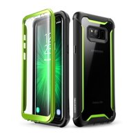 Samsung Galaxy S8 Active case, i-Blason [Ares] Full-body Rugged Clear Bumper Case with Built-in Screen Protector for Samsung Galaxy S8 Active 2017 Release