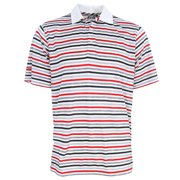 PING Golf Men's Cannonball Striped Polo Shirt, Brand NEW -