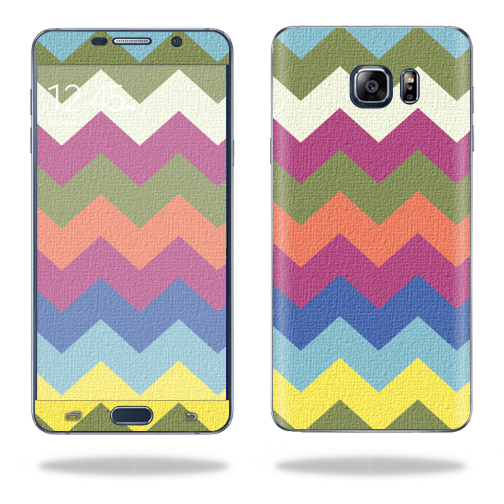 MightySkins Protective Vinyl Skin Decal for Samsung Galaxy Note 5 wrap cover sticker skins Earth Chevron