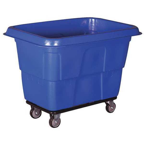Cube Truck,MDPE,Blue,11.9 cu. ft. 36FL14