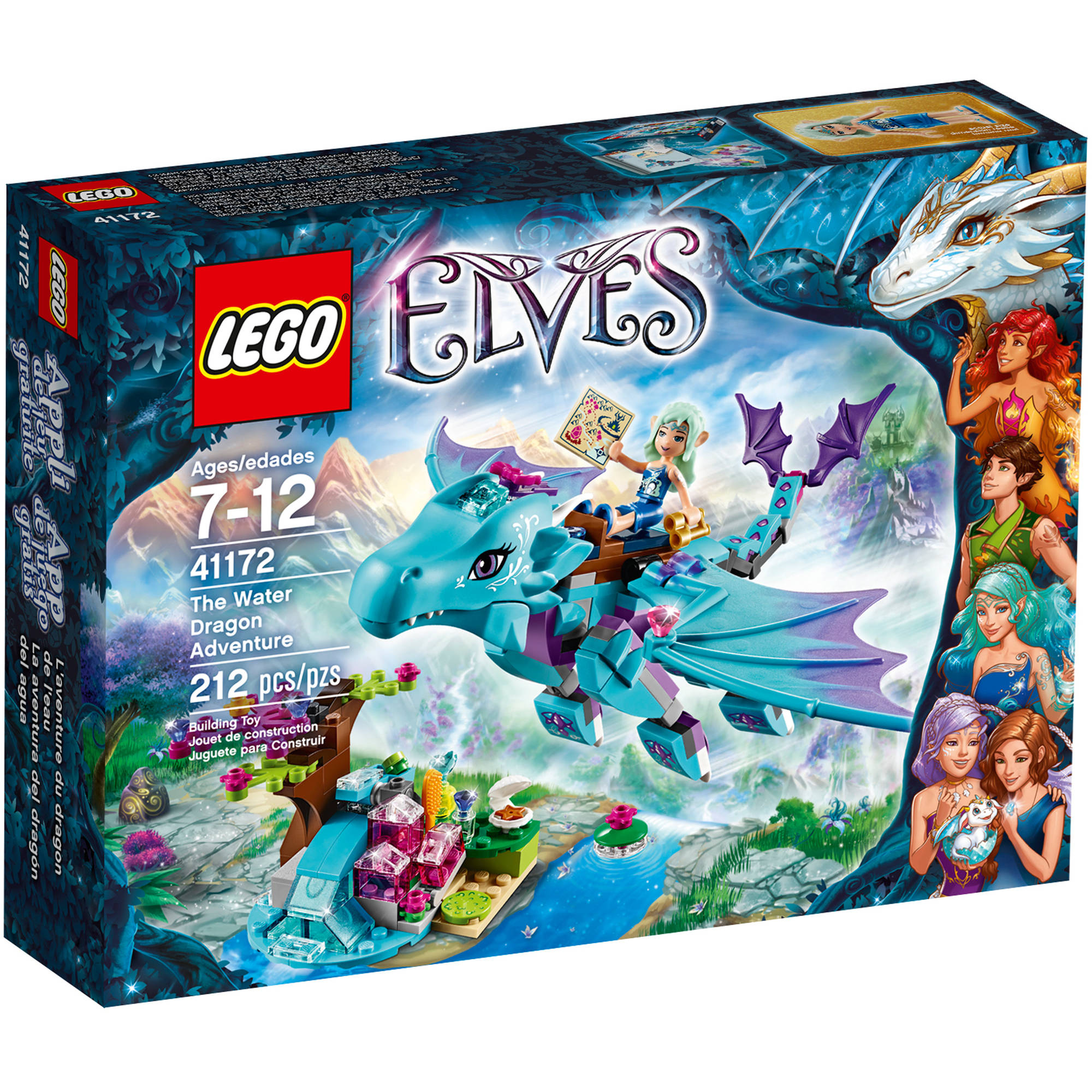 LEGO Elves The Water Dragon Adventure Walmartcom - 16 imaginative lego ads that celebrate the power of fantasy 2