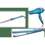 Babyliss Nano Titanium Professional Hair Dryer, Straightening Iron and Curling Iron Combo Kit($249 Value)