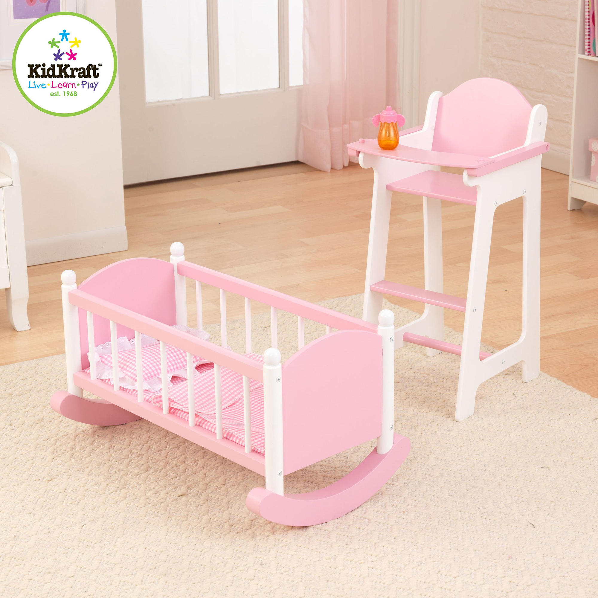 Baby doll furniture sets roselawnlutheran Dolls wooden furniture
