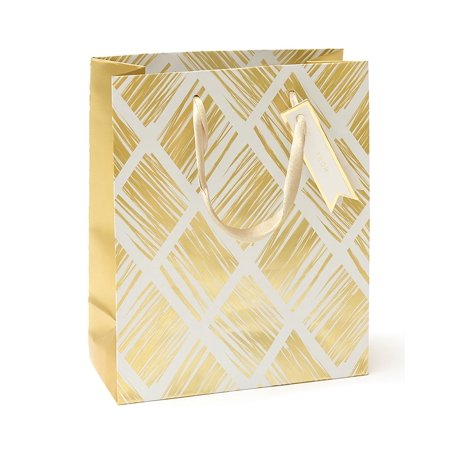 Mara-Mi Diamond Gold Foil Small Gift Bag