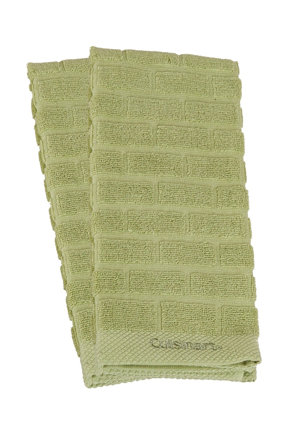 Cuisinart 100% Cotton Terry Super Absorbent Kitchen Towel, Sculpted Subway Tile, Perfect... by Cuisinart