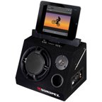 Sondpex Bluetooth All-Purpose Active Speaker Docking System and Music Player