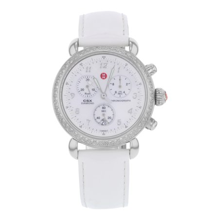 9ac00c6afbd74 Michele CSX-36 Diamond MWW03C000085 Steel Quartz Ladies Watch ...