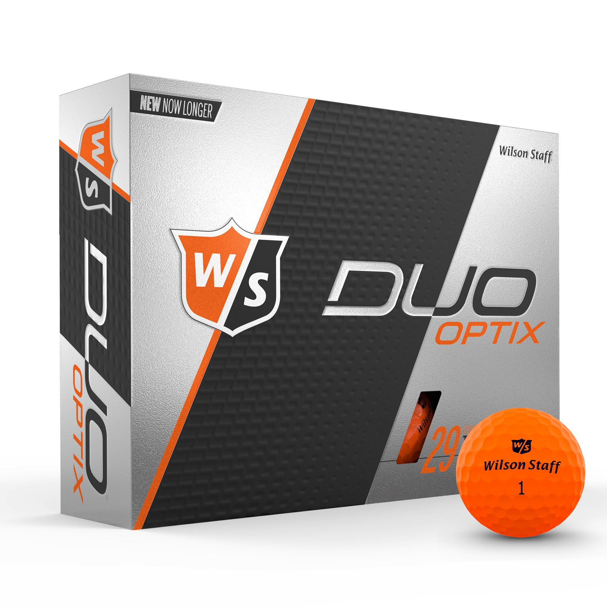 Wilson Staff Duo Soft Optix Golf Balls, Electric Glow Yellow, 12 pack by Wilson Sporting Goods