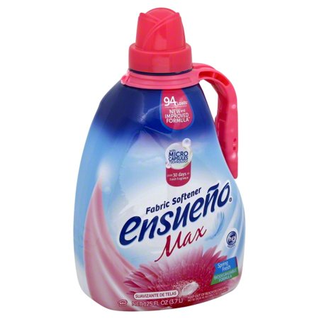 New 350361  Ensueno Max 125Z Spring Fresh (4-Pack) Laundry Detergent Cheap Wholesale Discount Bulk Cleaning Laundry Detergent Fashion Accessories