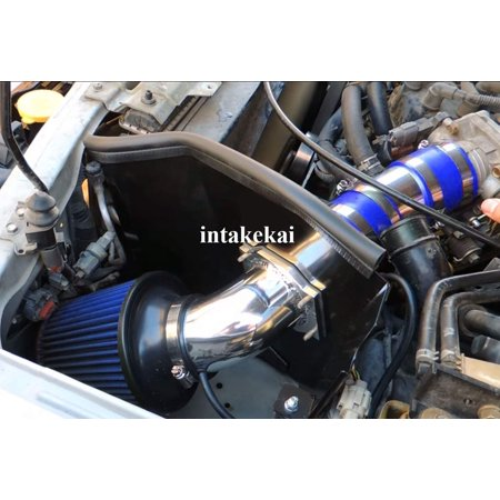 1999 2000 2001 2002 2003 Nissan Frontier 3.3 / 2000-2003 Nissan Xterra 3.3 V6 Engine AIR INTAKE KIT SYSTEMS (BLUE)