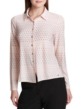 16e4e0f42b Product Image Candy Dot Button-Down Shirt. Tommy Hilfiger