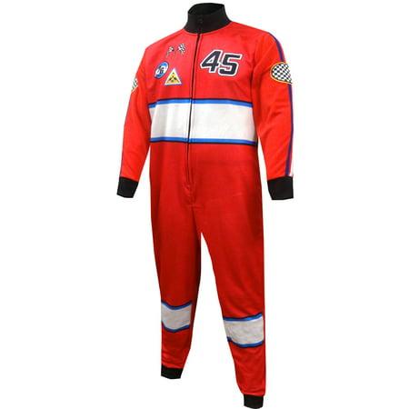- Race Car Driver Union Suit One Piece Pajama