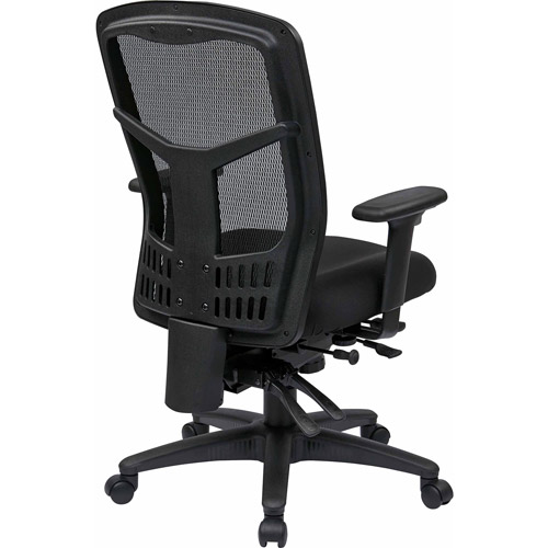 Office Star ProGrid High-Back Manager Chair, Black