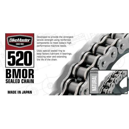 BikeMaster 520BMOR-94 520 BMOR Series Chain - 94 Links - Natural