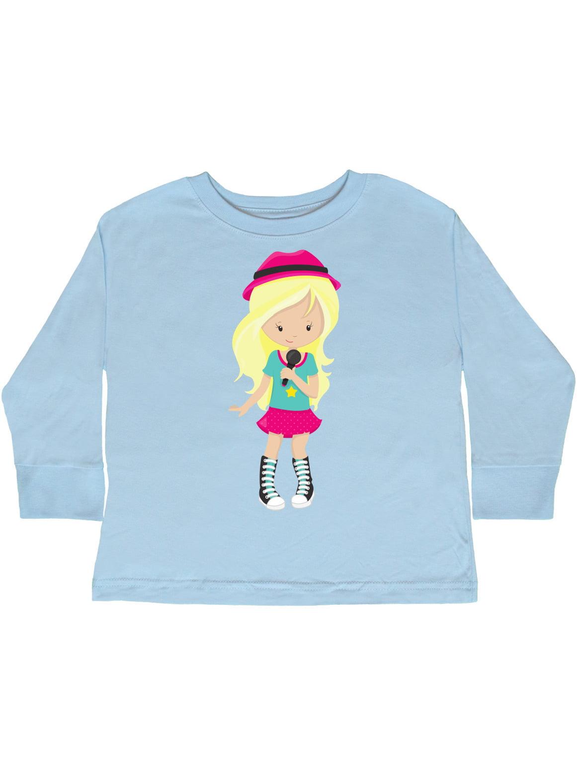 Band Singer Toddler T-Shirt Rock Girl inktastic African American Girl