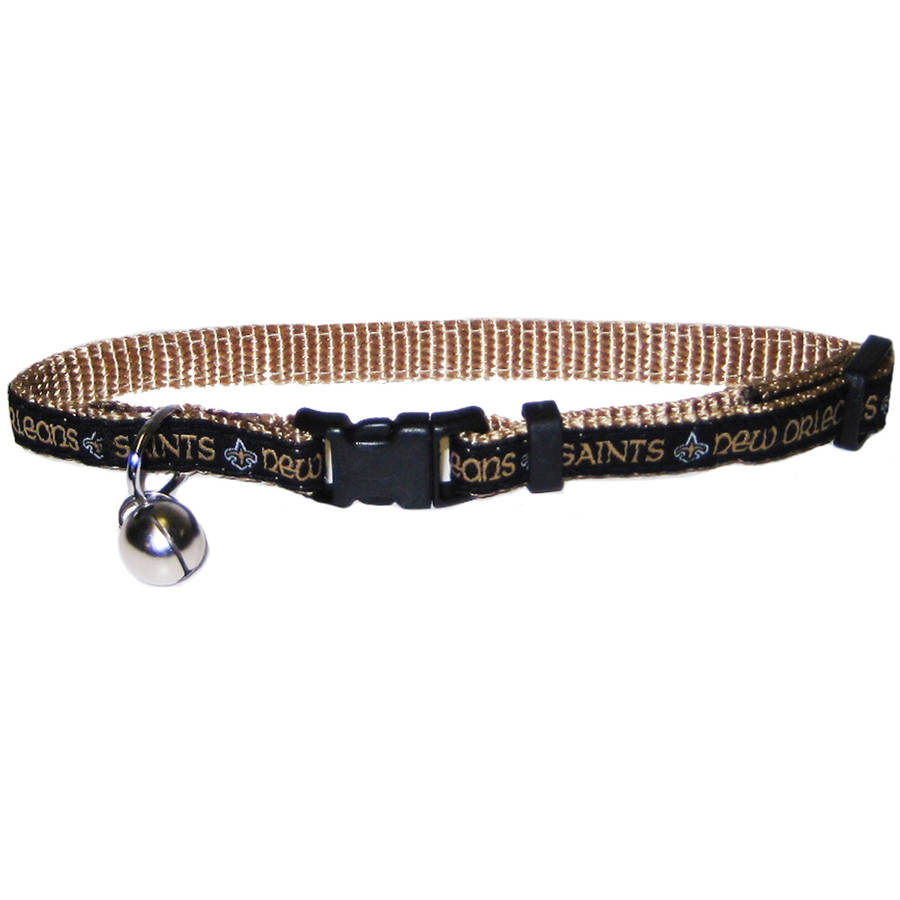 Pets First NFL New Orleans Saints Cat Collar