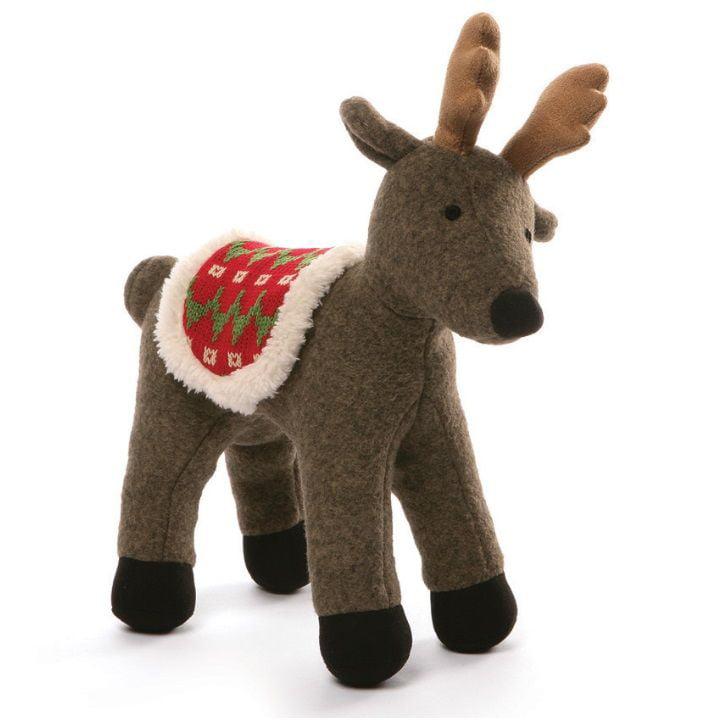 Winter Reindeer Gray 9 inch - Holiday Stuffed Animal by GUND (4053896)