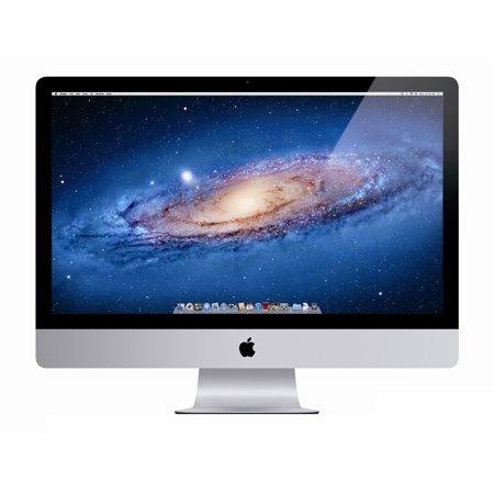 Refurbished Apple A Grade Desktop Computer iMac 21.5-inch (Aluminum) 2.7GHZ Quad Core i5 (Mid 2011) MC812LL/A 4 GB DDR3 1 TB HDD 1920 x 1080 Display Sierra 10.12 Includes Keyboard -