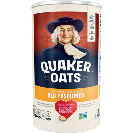 Quaker Old Fashioned Oats, 42 oz Canister