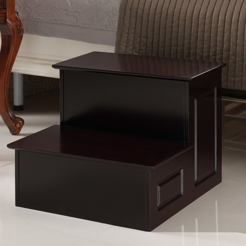 Inroom Designs 2 Step Manufactured Wood Step Stool With