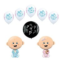 8 pc Gender Reveal Party Baby Shower Balloon