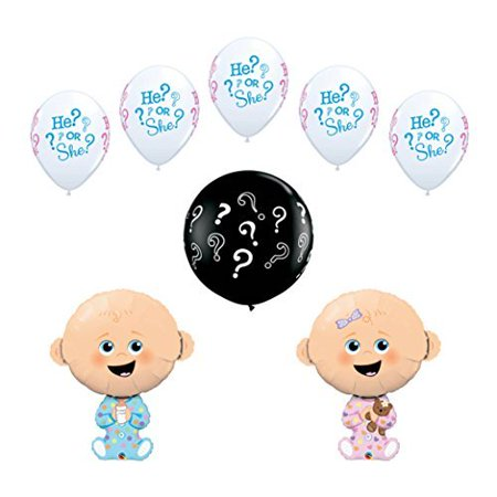 8 pc Gender Reveal Party Baby Shower Balloon - Baby Gender Reveal Party Supplies