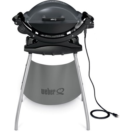 weber q140 electric grill with stand. Black Bedroom Furniture Sets. Home Design Ideas