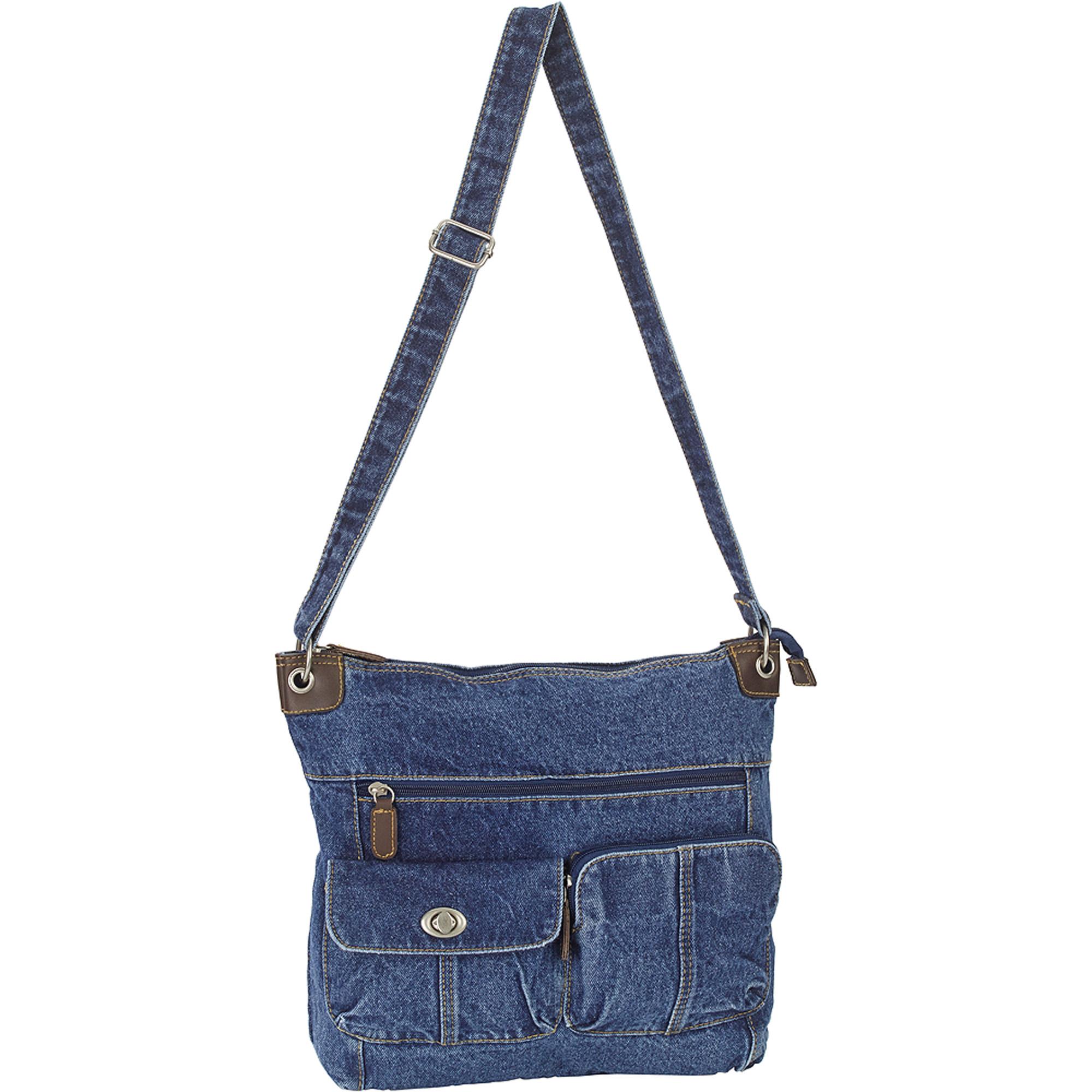 Women's Cartidge Pocket Crossbody Handbag