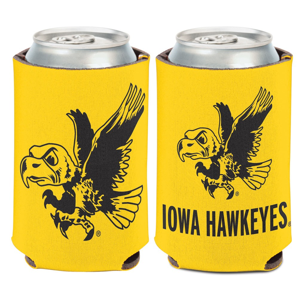 Iowa Hawkeyes Official NCAA 12 oz. Insulated Coozie Can Cooler by WinCraft