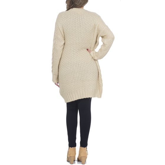 bad06d6600 Hot From Hollywood - Women s Chunky Cable Knitted Oversized Sweater ...