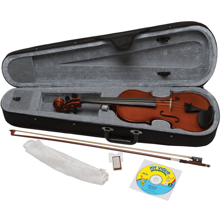 eMedia My Violin Starter Pack For Kids, 1 2 Size by Emedia