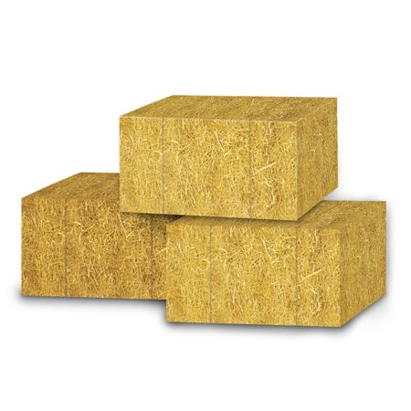 Club Pack of 36 Decorative Golden Country Straw Bale Favor Boxes 5